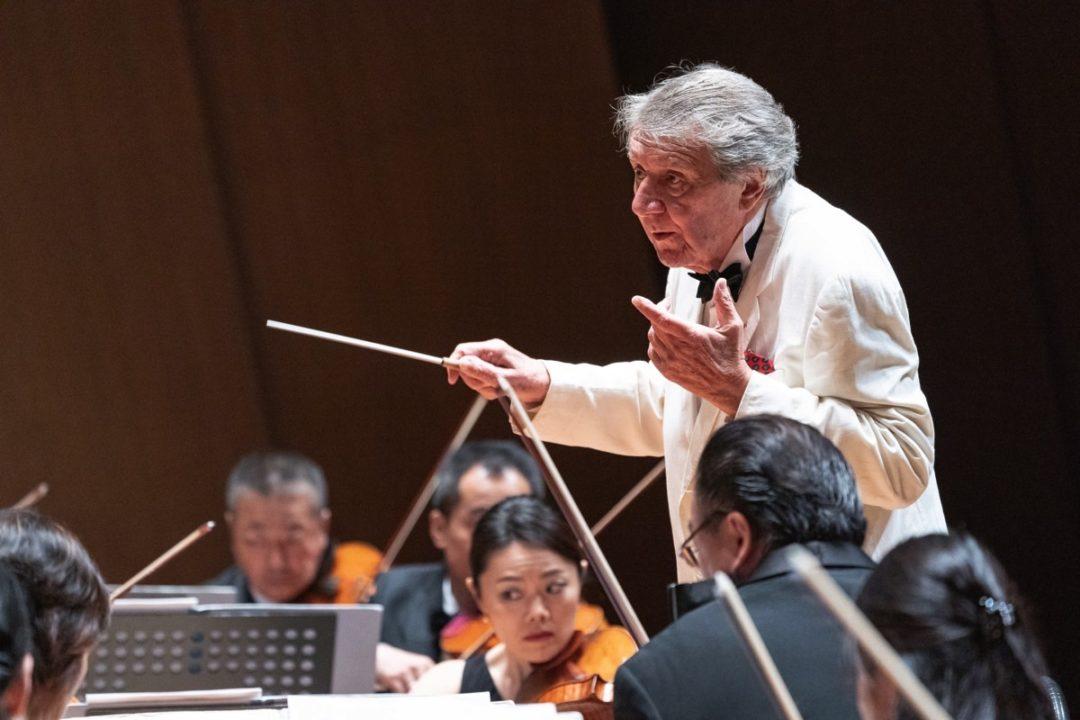 フランスの最長老格の名指揮者ミシェル・プラッソン、大いに語る