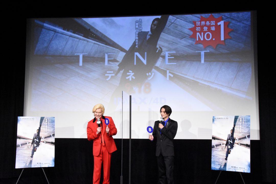 映画『TENET  テネット』