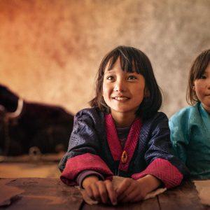 『ブータン山の教室』メイン