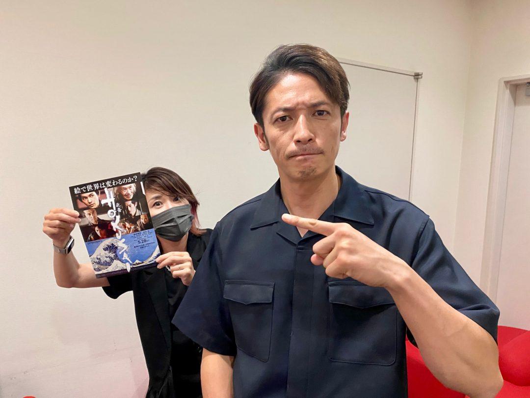 映画『HOKUSAI』で喜多川歌麿を演じた玉木宏が思う「役者には色気が必要」ということ