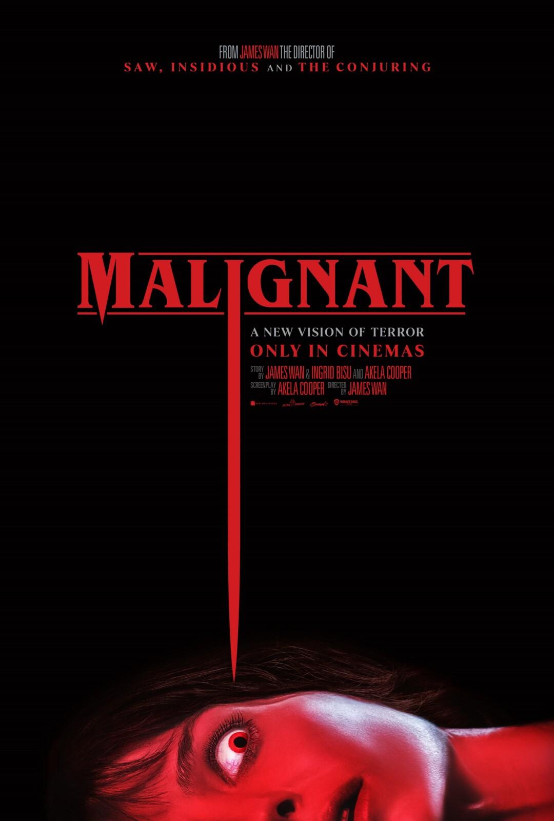"""狂気に満ちた""""悪夢"""" ホラー映画界の巨匠ジェームズ・ワン監督最新作 映画『マリグナント』の予告映像が公開"""