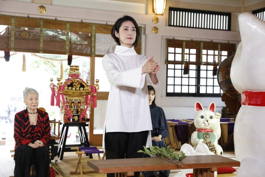映画『老後の資金がありません!』天海祐希主演のお金コメディ・エンターテインメント 大ヒット祈願イベントを開催