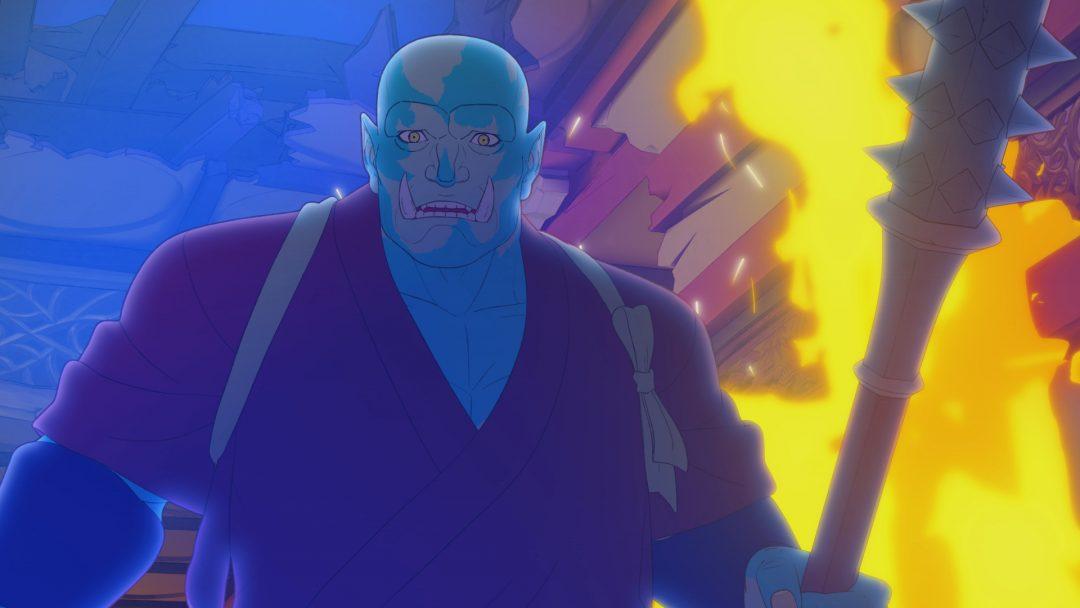 予告映像とキーアート公開!ハリウッド実写映画のスピンオフアニメ 映画『ブライト:サムライソウル』が10月12日(火)よりNetflixにて全世界独占配信